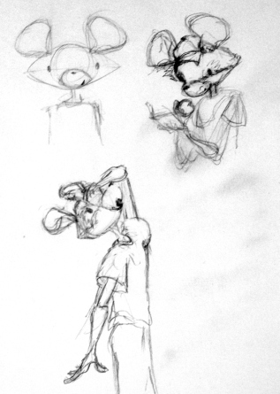 little mouse sketch