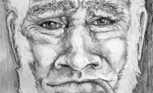 Old Salt pencil sketch