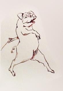 Pig 1 sketch