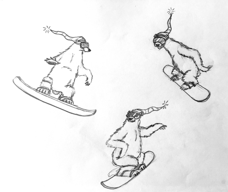 solar polar sketches