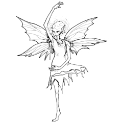 creepy fairy